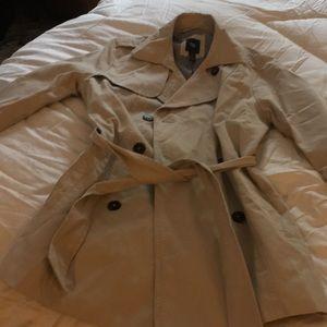 Gap cotton trench coat - NWOT